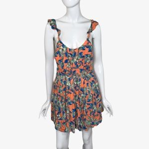 Free People Low Scoop Neck Short Dress Extra Small